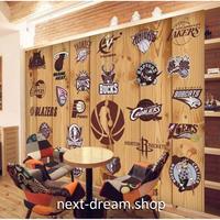壁紙 8D素材 スポーツ バスケ ロゴ 1ピース 1㎡ サイズカスタマイズ可能 部屋 リビング ショップ 店舗 m06146