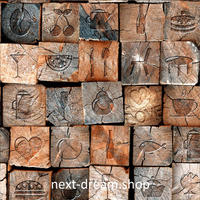 3D 壁紙 50×1000㎝ 北欧 ヴィンテージデザイン 木 防カビ 耐水 おしゃれ クロス インテリア 装飾 寝室 リビング h01778