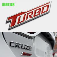 シボレー ステッカー メタル バッジ ボディ リア Chevrolet TURBO h00508