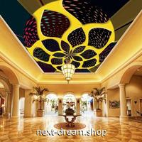 3D 壁紙 1ピース 1㎡ モダンアート ホテル 天井用 インテリア 装飾 寝室 リビング 耐水 防湿 h02692