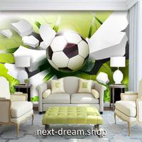 3D 壁紙 1ピース 1㎡ モダン 立体アート サッカーボール インテリア 部屋 寝室 リビング 防湿 防音 h03057