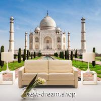 3D 壁紙 1ピース 1㎡ シティ風景 インド 宮殿 DIY リフォーム インテリア 部屋 寝室 防湿 防音 h03373