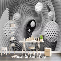 3D 壁紙 1ピース 1㎡ 立体空間 トリックアート DIY リフォーム インテリア 部屋 寝室 防湿 防音 h03078