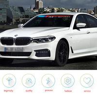 BMW 車 ステッカー ペア Mスポーツ e46 e39 e90 e60 f30 f31 m3 m5 g11 g3o z4 e85 x5 フロント リア 窓ガラス デカール h00027