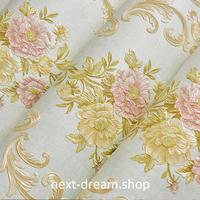 3D 壁紙 53×1000㎝ 花柄 刺繍デザイン DIY 不織布 カビ対策 防湿 防水 吸音 インテリア 寝室 リビング h01978