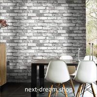 3D 壁紙 53×1000㎝ レンガ モダンヴィンテージ PVC 防水 カビ対策 おしゃれクロス インテリア 装飾 寝室 リビング h01867