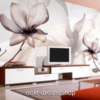 3D 壁紙 1ピース 1㎡ ヨーロッパモダン マグノリアの花 インテリア 部屋装飾 耐水 防湿 防音 h02907