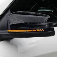 メルセデスベンツ ステッカー サイドミラー ストライプ デカール W204 W212 W117 W176 AMGスタイル h00102