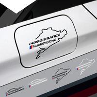 BMW 車 燃料タンクキャップ ステッカー レーシングロード Nurburgring デカール  e46 90 60 39 f30 34 f10 e70 e71 x3 x4 x5 x6  h00017