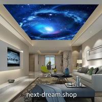 3D 壁紙 1ピース 1㎡ 宇宙景色 銀河系 星 天井用 インテリア 装飾 寝室 リビング 耐水 防湿 h02640