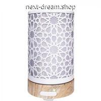 加湿器 超音波式 空気清浄機 LED 7色 星模様 エスニック  乾燥・肌荒れ・風邪・花粉症予防  オフィス インテリア  m01366