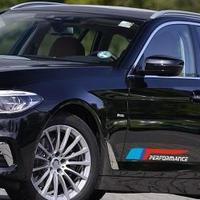 BMW ステッカー デカール Performance サイド ロゴ ペア ドア e46 e90 e39 f30 f10 e70 e60 e36 x5 e53 e34 e30 h00060