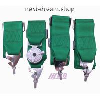カムロック 安全シートベルト 3インチ4点式 レーシングハーネス 新品送料込 m00176