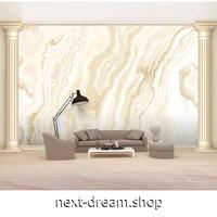 カスタム3D壁紙 マーブル模様 ベージュ 高級感 8Dエンボス素材 部屋 リビング 寝室 ショップ ウォールペーパー m05925
