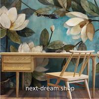 カスタム3D壁紙 1ピース 1㎡ ヨーロッパ 絵画 花 レトロ キッチン 寝室 リビング クロス張替 リメイクシート m04495