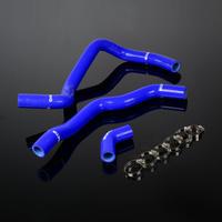 ホンダ シリコンラジエーターヒーターホース HONDA FIT Jazz L13A/L15A i-DSI VTEC  青  h00705