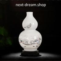 新品送料込  花瓶 磁器 壺 白 ホワイト 雪景色 アンティーク ヴィンテージ 高級装飾 ホームインテリア 贈り物  m00557