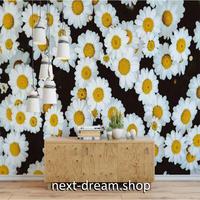 カスタム3D壁紙 1ピース 1㎡ 立体フラワー デイジー 白い花 おうち時間充実 おしゃれ キッチン 寝室 リビング m03511