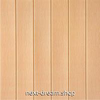 【3D壁紙】 70×70cm 木の板デザイン オレンジベージュ 接着剤付 高級クロス 部屋 オフィス ショップ DIY 防水 m03959