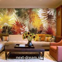 3D 壁紙 1ピース 1㎡ リーフ ボタニカル 植物 インテリア 装飾 寝室 リビング h02212