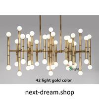 ペンダントライト 照明 LED 42灯 120cm シャンデリア ダイニング リビング キッチン 寝室 北欧モダン h01645