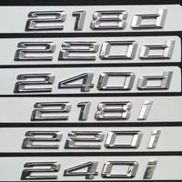 BMW エンブレム 218i 220i 240i 218d 220d 240d リアステッカー Mパフォーマンス h00243
