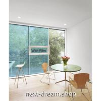 カラーウィンドウフィルム / ガラスステッカー 90×500cm スカイブルー 紫外線 / UV / 日射ブロック パーティデコレーション m03076