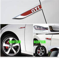 ワーゲン ステッカー GTI 2個入 バッジ ボディ Volkswagen h00512