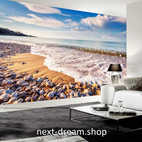 3D 壁紙 1ピース 1㎡ 自然風景 海 岩場 海岸  インテリア 装飾 寝室 リビング 耐水 防カビ h02420