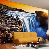 3D 壁紙 1ピース 1㎡ 自然風景 滝 ウォーターフール インテリア 装飾 寝室 リビング 耐水 防カビ h02393