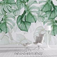 3D 壁紙 1ピース 1㎡ 北欧モダン トロピカル植物 インテリア 部屋装飾 耐水 防湿 防音 h02810