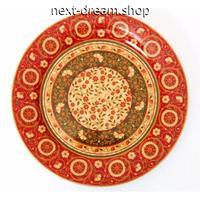 新品送料込 皿 セラミック 食器 海外 赤 花葉 ペルシャスタイル 高級 おしゃれ ホームパーティ 00826