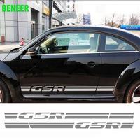 ワーゲン ビートル ステッカー サイドボディ Volkswagen Beetle 2個入 GSR h00471