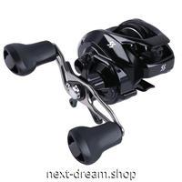 新品 ベイトリール 釣り道具 お洒落 フィッシング  12BB 黒 低音 右ハンドル 左ハンドル m01955