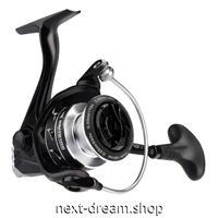 新品 リール 釣り道具 フィッシング 超軽量カーボン スピニング 低音 高性能ベアリング 黒×銀 1000 / 2000 / 3000 /4000番 m01915