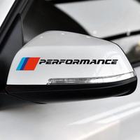BMW ステッカー 2個入 バックミラー e90 e46 f30 f10 f07 f34 x1 x3 x4 x5 e70 f15 x6 f16 M3 M5 h00090