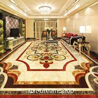 3D 壁紙 1ピース 1㎡ 床用 ホテル ヨーロッパ DIY リフォーム インテリア 部屋 寝室 防湿 防音 h03431