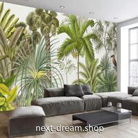 3D 壁紙 1ピース 1㎡ トロピカルデザイン 東南アジア 熱帯雨林 インテリア 部屋装飾 耐水 防湿 防音 h02817