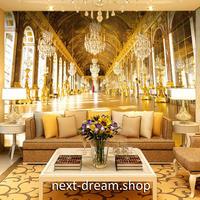 3D 壁紙 1ピース 1㎡ 王宮 ヨーロッパレトロ 黄金 インテリア 部屋装飾 耐水 防湿 防音 h02829