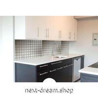 ウォールステッカー 壁紙 60cm×5m 防水 防油 タイル シルバーグレー 家具リフォーム キッチン・お風呂・古いドアに m02710