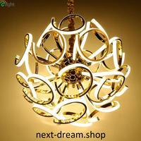 ペンダントライト 照明×12 LED ゴールドボディ 球状 調光可能 ダイニング リビング キッチン 寝室 北欧モダン h01601
