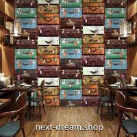 3D 壁紙 1ピース 1㎡ ヨーロッパのお店 鞄屋 スーツケース インテリア 部屋装飾 耐水 防湿 防音 h02958