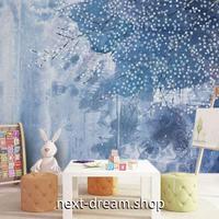 3D 壁紙 1ピース 1㎡ 北欧デザイン 雪 枯れ木 インテリア 部屋装飾 耐水 防湿 防音 h02922