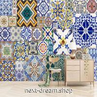 3D 壁紙 1ピース 1㎡ エスニックスタイル レトロ 伝統模様 可愛い おしゃれ キッチン 寝室 客室 m03364