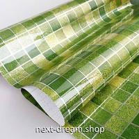 壁紙 45×300cm 正方形タイル 緑 グリーン  DIY リフォーム インテリア キッチン/トイレ/浴室にも 防油 防水 PVC h04010