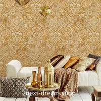 3D 壁紙 53×1000㎝ トライバル柄 エスニック DIY 不織布 カビ対策 防湿 防水 吸音 インテリア 寝室 リビング h01969