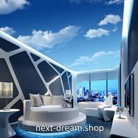 3D 壁紙 1ピース 1㎡ 自然風景 青い空 白い雲 天井用 インテリア 装飾 寝室 リビング 耐水 防湿 h02668