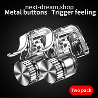 新品送料込 ジョイスティック 銃 トリガー ゲーム コントローラー L1 R1 ボタン スマホ用 iPhone Android おもちゃ プレゼント m00752