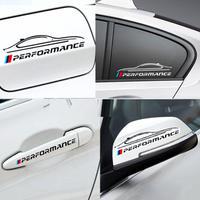 BMW ステッカー Mパフォーマンス ミラー ドア E30 E34 E36 E39 E46 E53 E60 E70 E71 E85 87 90 91 92 83 F10 20 21 30 h00225