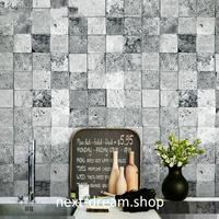 3D 壁紙 53×1000㎝ 石レンガ ヴィンテージ PVC 防水 カビ対策 おしゃれクロス インテリア 装飾 寝室 リビング h01869